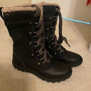 Black Timberland Women's Mount Hope Boots